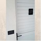 placa de sinalização banheiro Arujá
