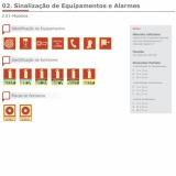 placas de sinalização bombeiro Parque Mandaqui